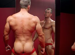 Otto Mann - 2nd Shoot in Red, MuscleHunks